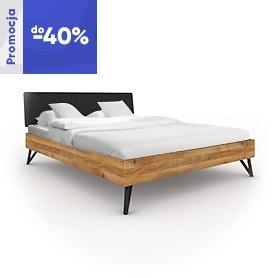 Bett GOLO 1 mit gepolstertem Kopfteil